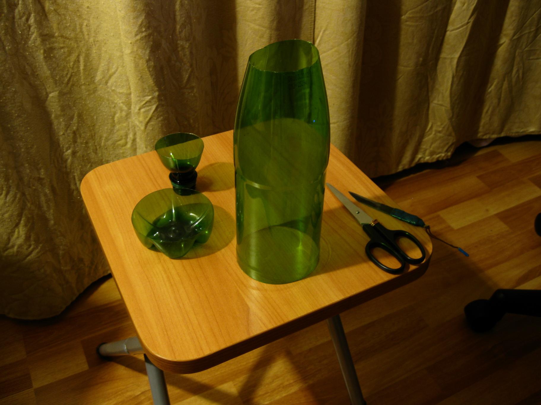 Как из бутылки сделать пальму пошаговое фото